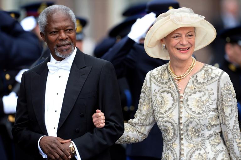 Annan's wife Nane Maria survives the former UN chief
