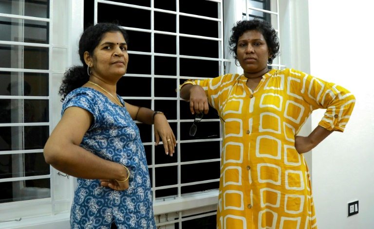 Bindu Ammini (R) and Kanakadurga (L) entered the revered Sabarimala temple on January 2