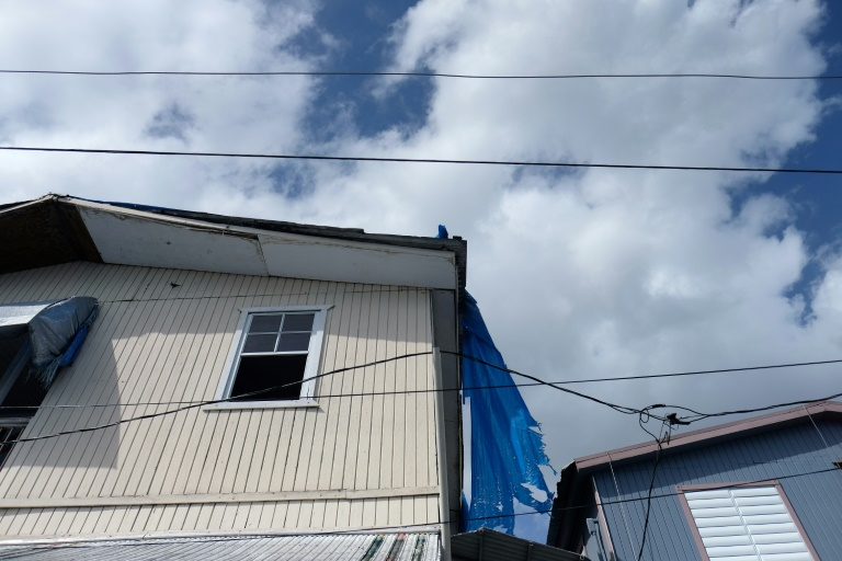 Sheet Roofs Puerto Rico Reels 2 Years After Hurricane