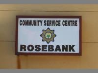 Rosebank Police Station.