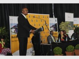 Executive Mayor of the City of Johannesburg, Parks Tau.