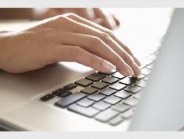 Typing Image.