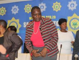 National police commissioner, Riah Phiyega.