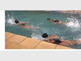 Image of children swimming.