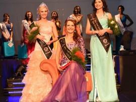 Photo: Miss Deaf SA Facebook  CROWNING BEAUTY: First princess, Ellen Mans van Worcester; Janie Erasmus, the latest Miss Deaf South Africa winner; and second princess, Hermina Christi Greeff.