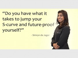 Jumping your S-curve… Simryn de Jager, business development and strategy director of The Seed SA.