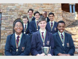 St John's College chess team won the B-section of the Eight-a-side Central Schools Chess League tournament.