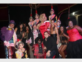 A WORLD OF FANTASY: The Madame Zingara entertainers, entertain guests at Montecasino.