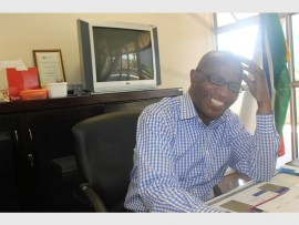 Mnyamezeli Ndevu, Joburg East District director of the Gauteng Department of Education.