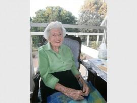 Granny Sarah Copelowitz of Saxonwold turns 101.