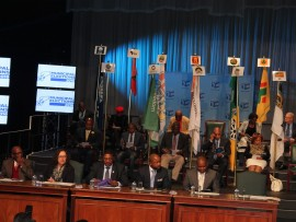 Commissioners-of-IEC-seated-in-front-and-at-the-back-is-leaders-and-representatives-of-different-political-parties.