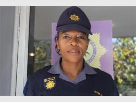 Sergeant Iris Phoko of Parkview Police Station.