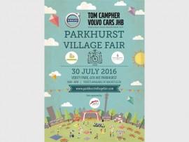 The Parkhurst Village Fair flyer.