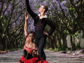 Photo: Lauge Sorensen PRECISE: Claudia Monja and Ivan Domiciano dance at Joburg Ballet studio.