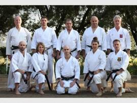 Dorfman senior fourth dan and higher black belt instructors trade war stories.