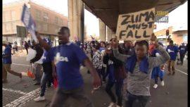 #TheBigIssue – JoburgToday – Anti Jacob Zuma Protest