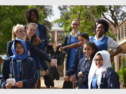 Parktown girls donate their Grade 12 shoes for a good cause