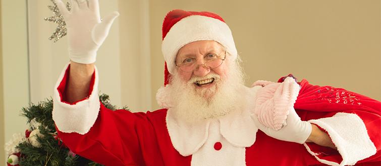 <h4>Meet the 'real' Santa</h4><p></p>