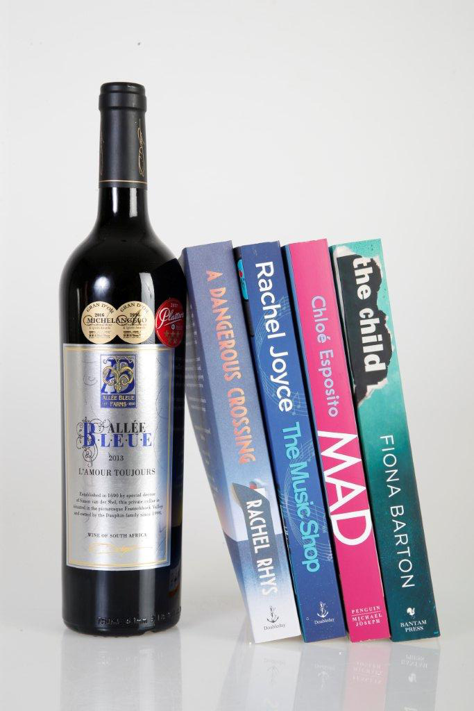 Four books to get you through the week … with a bottle of jolly good wine alongside!