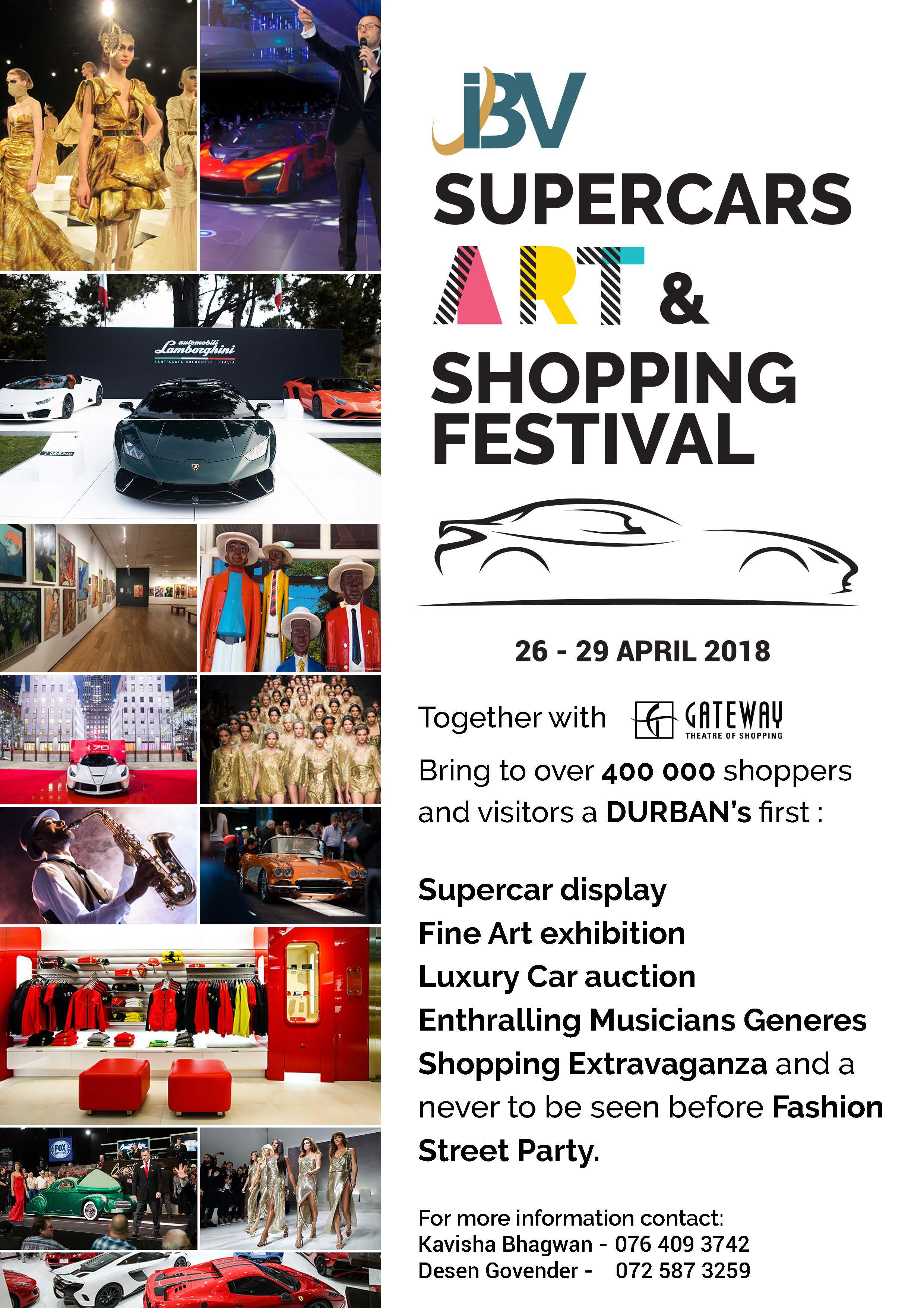 IBV Supercars, Art and Shopping Festival