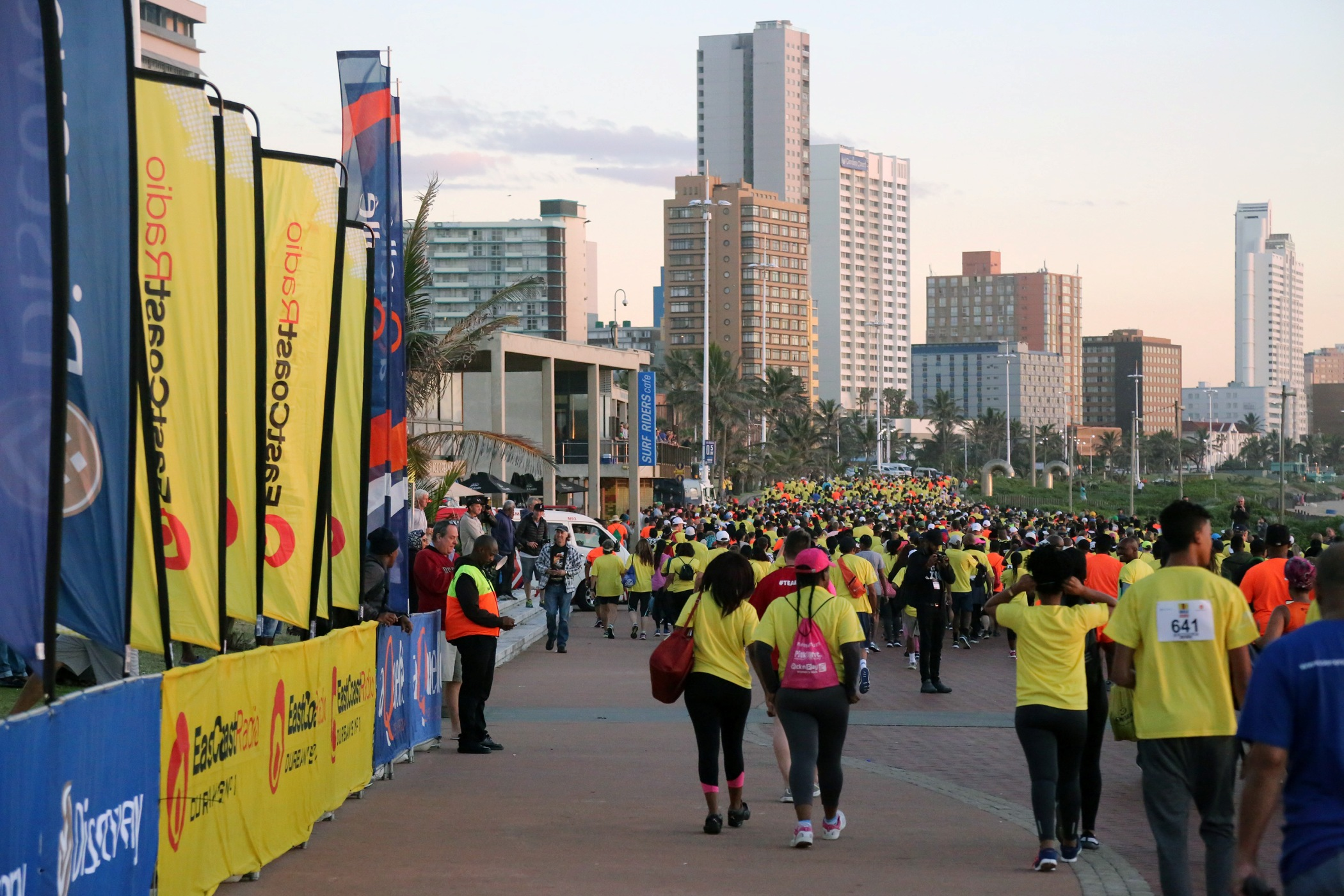 More than 30 thousand people join in the Discovery East Coast Radio Big Walk
