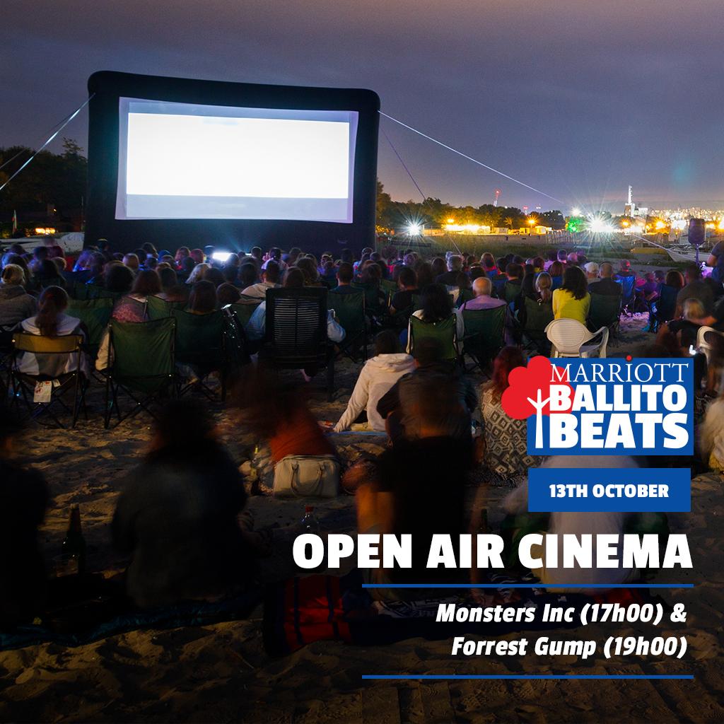WIN tickets to Ballito! Marriot Ballito Beats open-air cinema