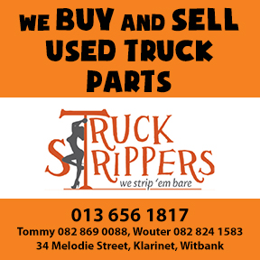 Truck Strippers Tel: 013 656 1817