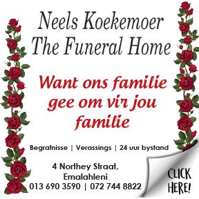 Neels Koekemoer Funeral Home