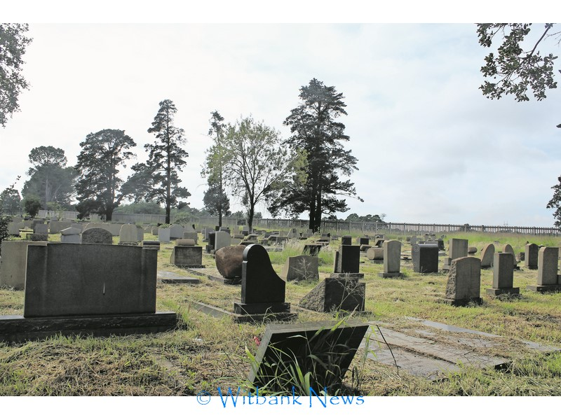 Untidy, unkempt and unclean cemeteries | Witbank News