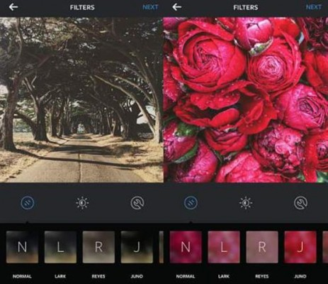 Instagram app update features new filters and emoji hashtags