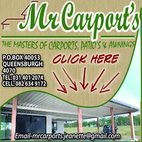 MR CARPORTS ONLINE 288X288