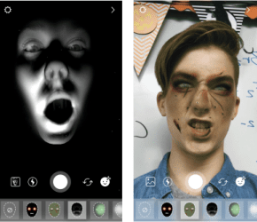 Instagram has also added a list of Halloween themed face filters and  stickers, just days before Halloween.