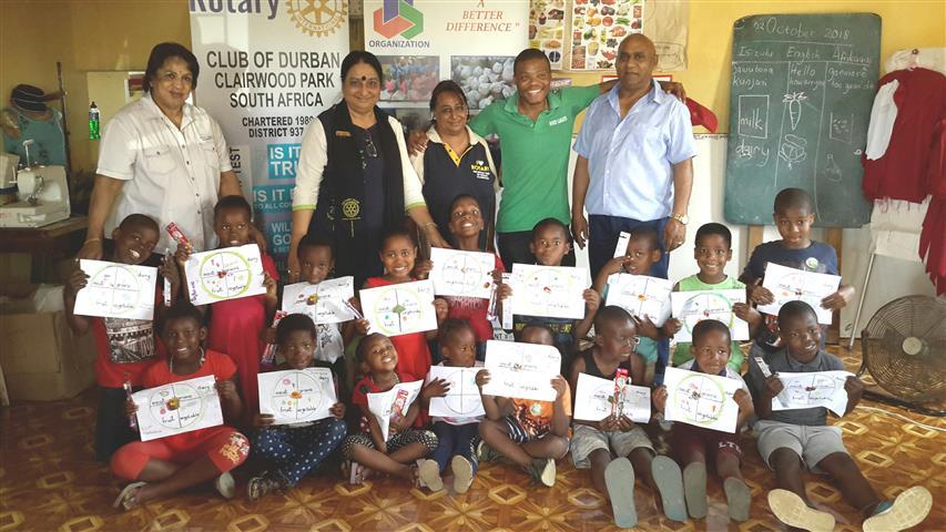Rotary Clairwood Small Igugulabantu Children Benefit From Life Skills Workshop