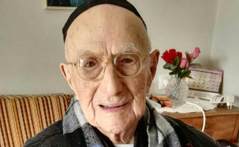 Israeli Holocaust survivor could be world's oldest man