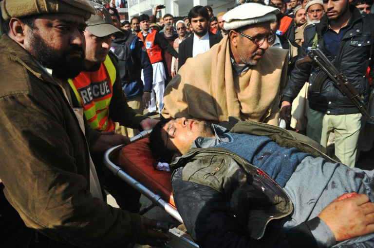 Timeline of deadliest insurgent attacks in Pakistan | AFP | Letaba