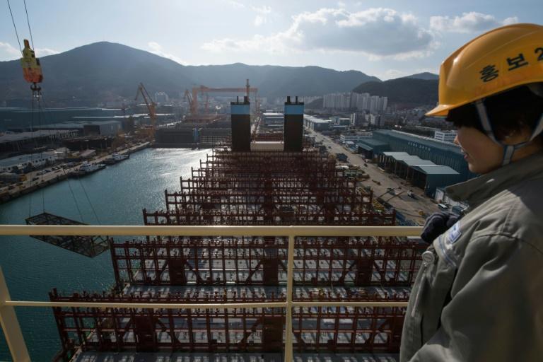 Crisis for South Korea shipbuilders as golden age fades | AFP