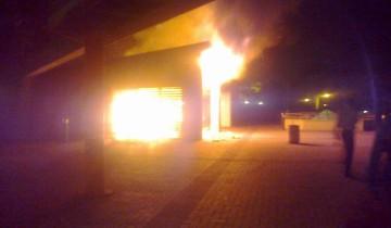 UKZN's Howard caffeteria ablaze