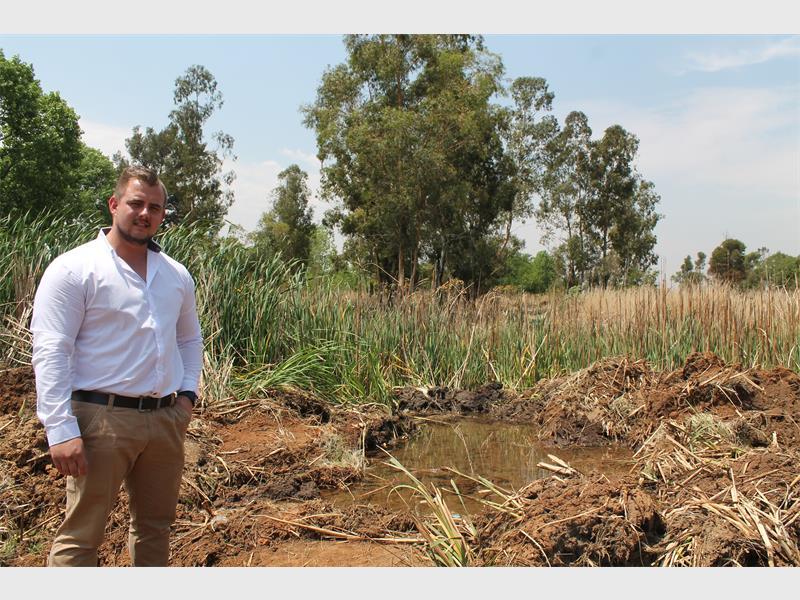 Water leak a blessing for zama-zamas
