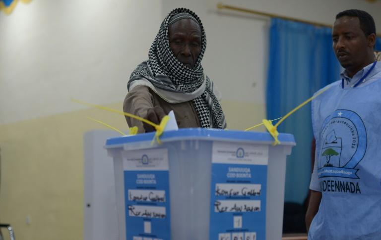 In Somalia Voting Under Way But Democracy Delayed Afp Germiston