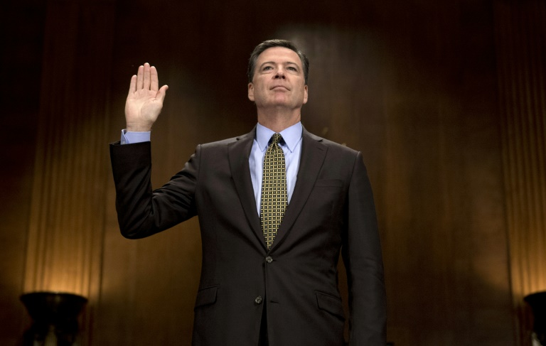 James Comey has agreed to testify in open session before Congress about Russian meddling in the US elections | © AFP/File | JIM WATSON