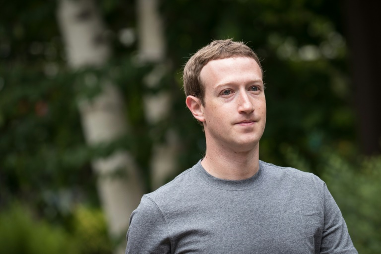 (FILES) This file photo taken on July 13, 2017 shows Mark Zuckerberg, chief executive officer and founder of Facebook Inc., attending the fourth day of the annual Allen & Company Sun Valley Conference in Sun Valley, Idaho | © GETTY IMAGES NORTH AMERICA/AFP/File | Drew Angerer