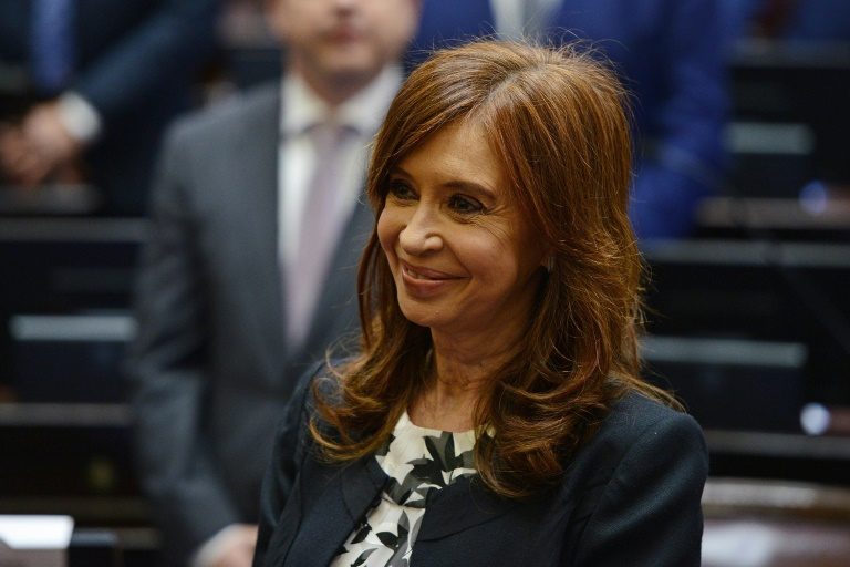 Argentina's former president Cristina Kirchner is accused of