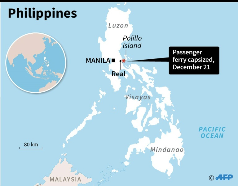 Casualties' as ferry carrying 251 capsizes off Philippines | AFP