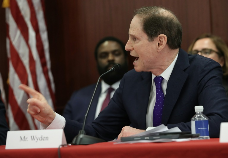 Ron Wyden, ranking member of the Senate Finance Committee ...