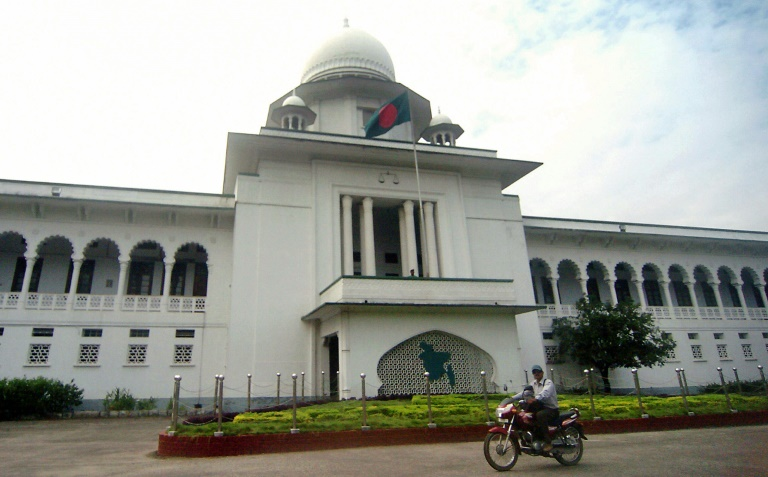 Bangladesh has a history of delivering death sentences in mass trials | © AFP/File | Farjana KHAN GODHULY