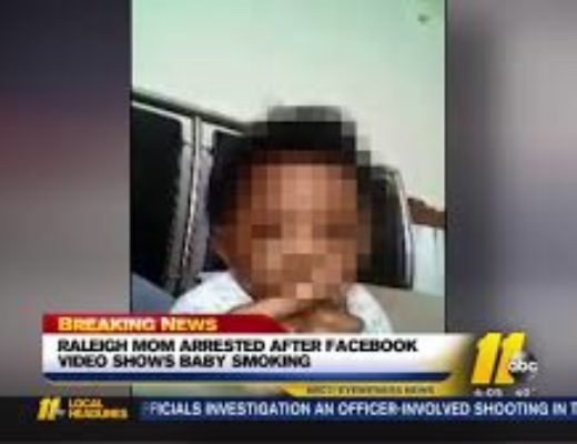 Mom arrested over Facebook video of her baby smoking 'dagga' – WATCH