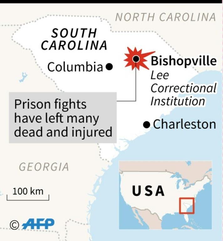 US prison riot | © AFP |
