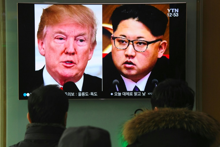 Kim makes first official mention of US-N Korea talks   AFP