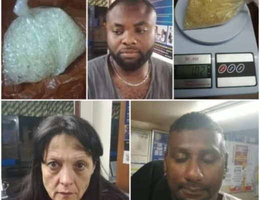 Trio busted for dealing drugs in Secunda