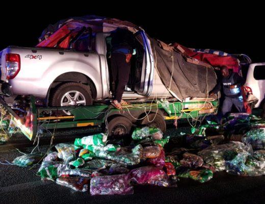 Suspected stolen bakkie covered in 'snacks' recovered in Limpopo